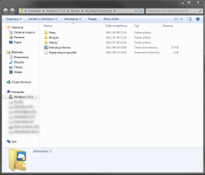 Folder usługi Storino