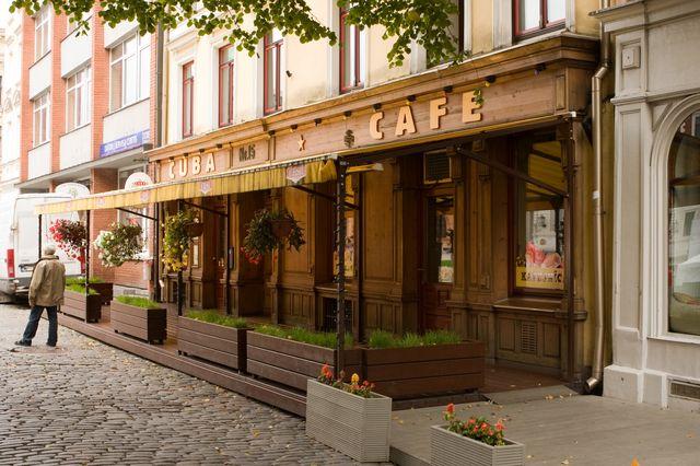 Kawiarnia w Rydze