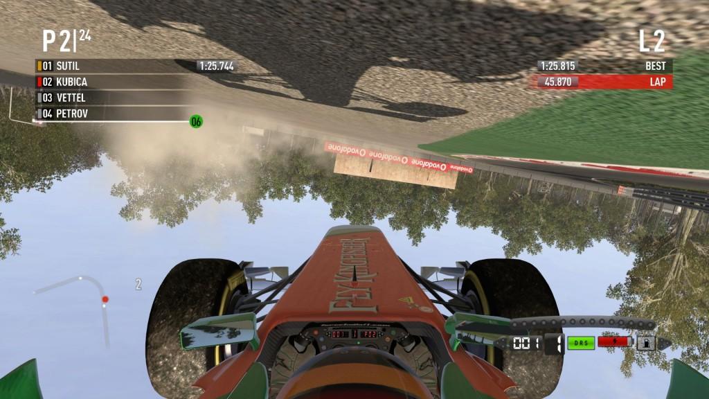 W F1 2011 wprowadzone zostało wiele zmian