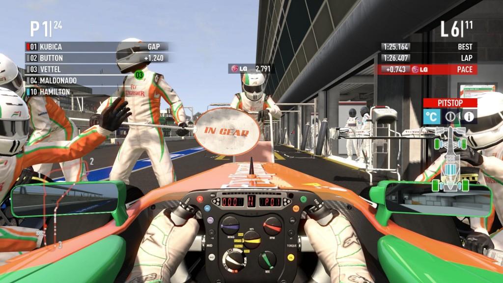 Pitstop w F1 2011