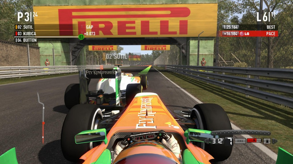 Walka na torze w F1 2011