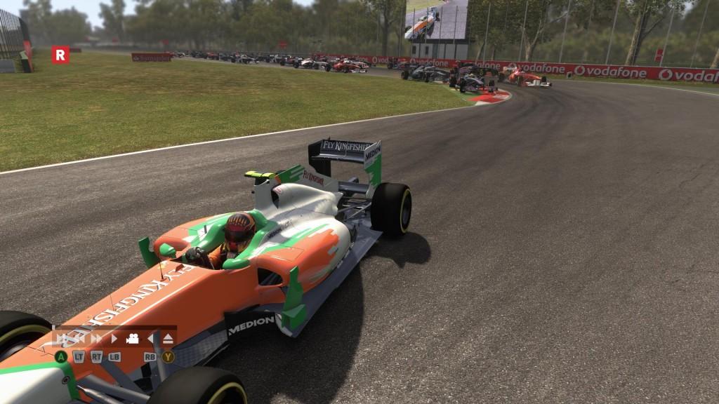 Objęcie prowadzenia w F1 2011