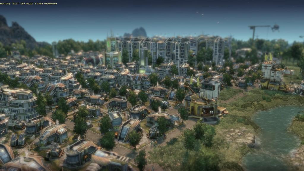 Anno 2070 - Panorma miasta