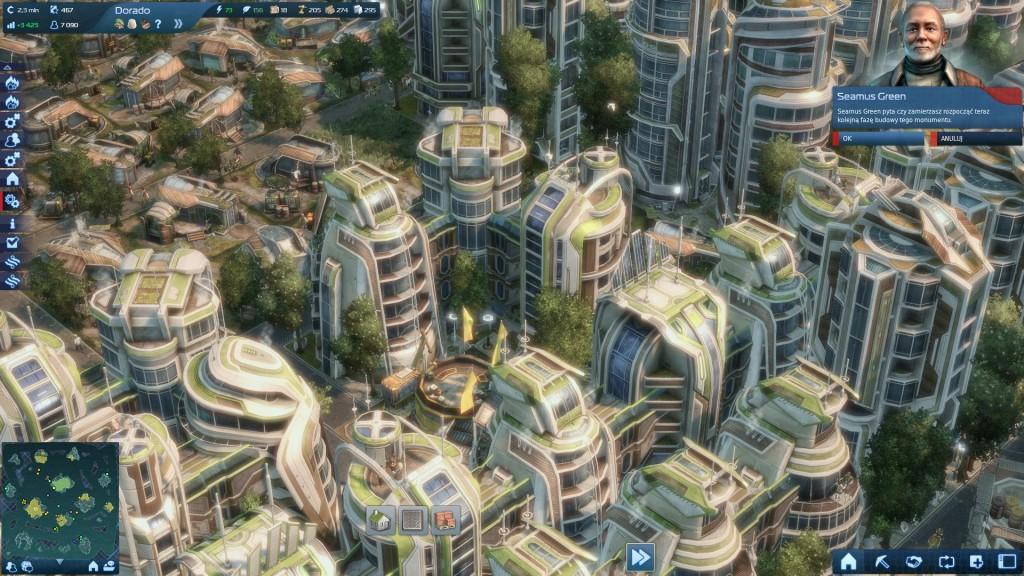 Anno 2070 - Typowa zabudowa miejska
