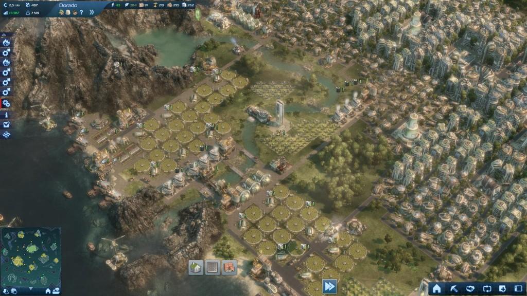 Anno 2070 - Widok miasta