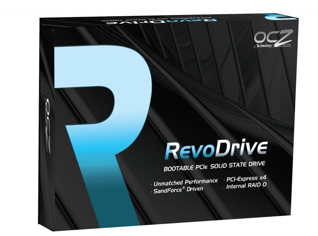 Pudełko z OCZ RevoDrive