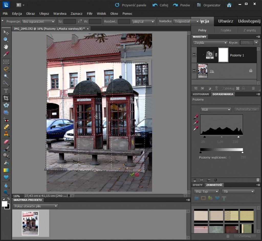 Obróbka zdjęcia w Adobe Photoshop Elements 10
