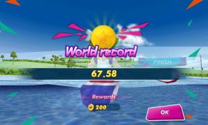 Rekord świata w K1 - Igrzyska Olimpijskie Londyn 2012