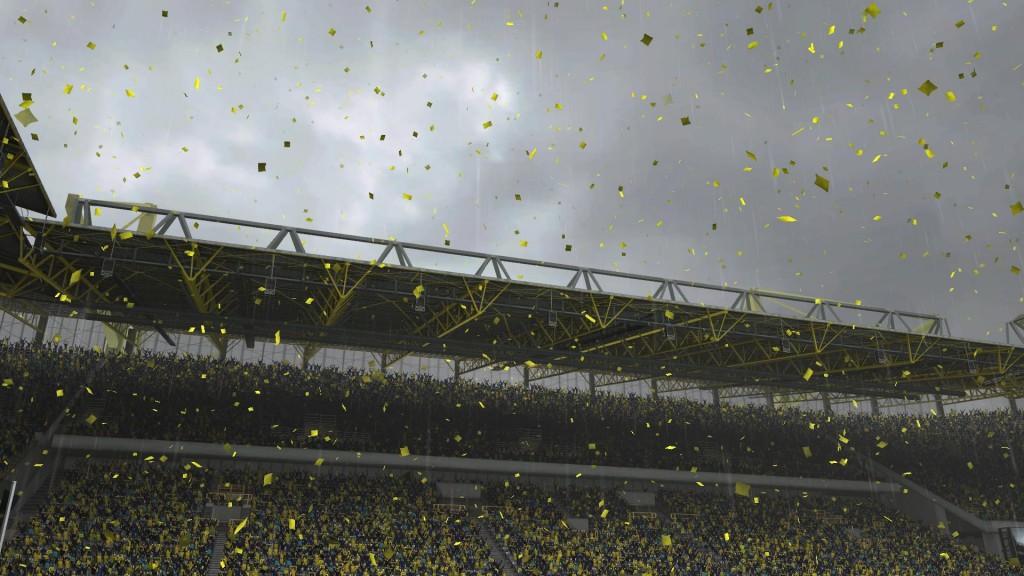 FIFA 13 - Efektowna oprawa towarzysząca celebracji tytułu