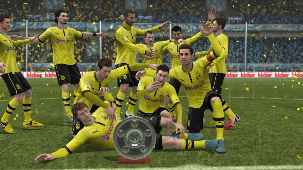 FIFA 13 - Feta po zdobyciu tytułu