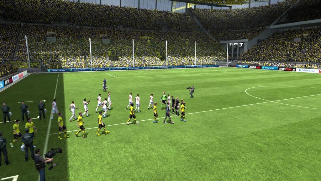 FIFA 13 - Prezentacja drużyn