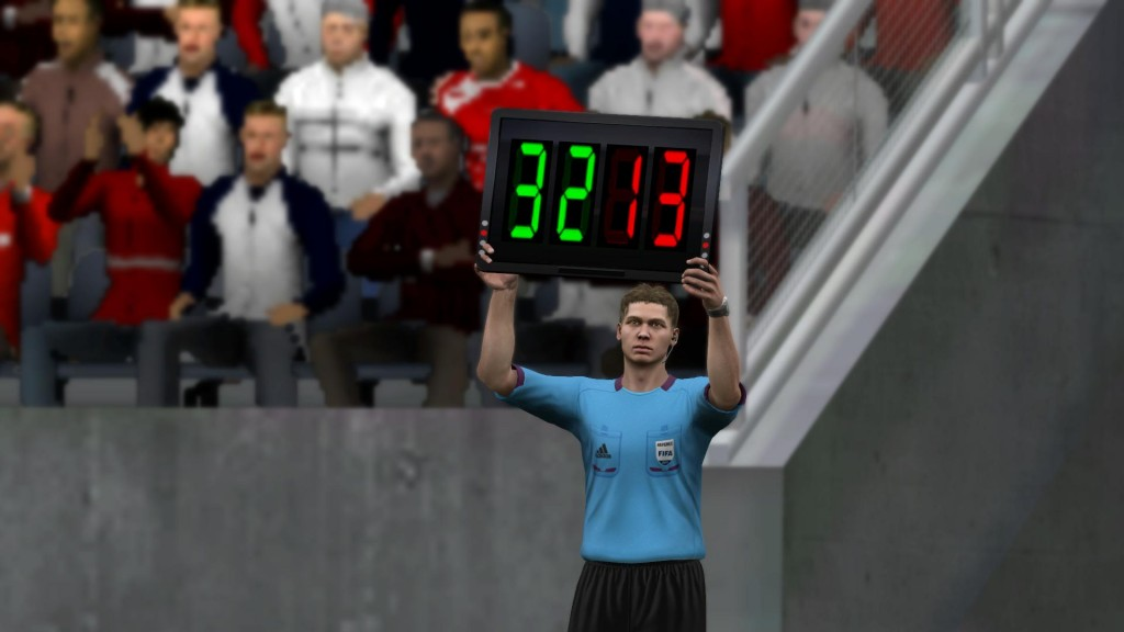 FIFA 13 - Zmiana zawodników w trakcie meczu