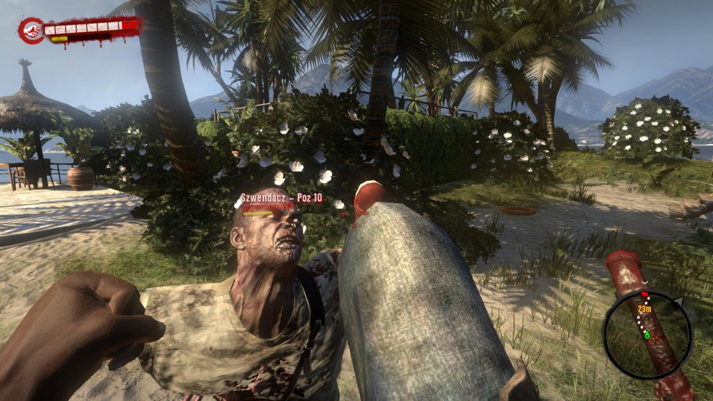 Kopnięcie pozwala zyskać czas i przewagę nad przeciwnikiem - Dead Island