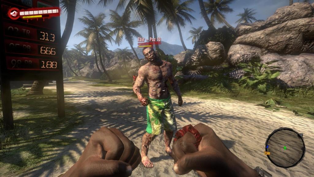 Walka wręcz z kastetem - Dead Island