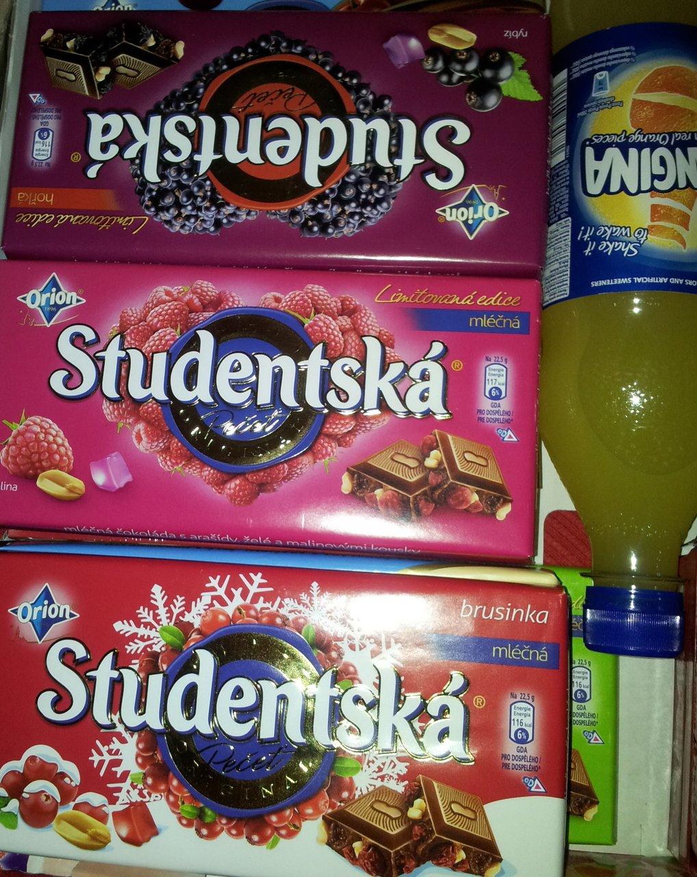 Fragment przesyłki ze sklepu Czeski Market