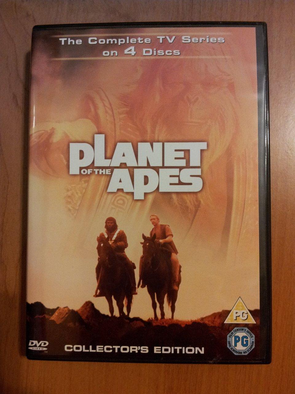 Okładka serialu Planeta Małp