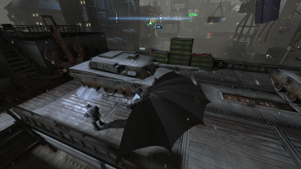 Atak z góry w Batman Arkham Origin