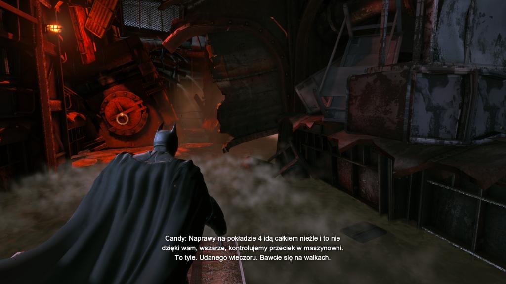 Mgiełka i takie tam w Batman Arkham Origin