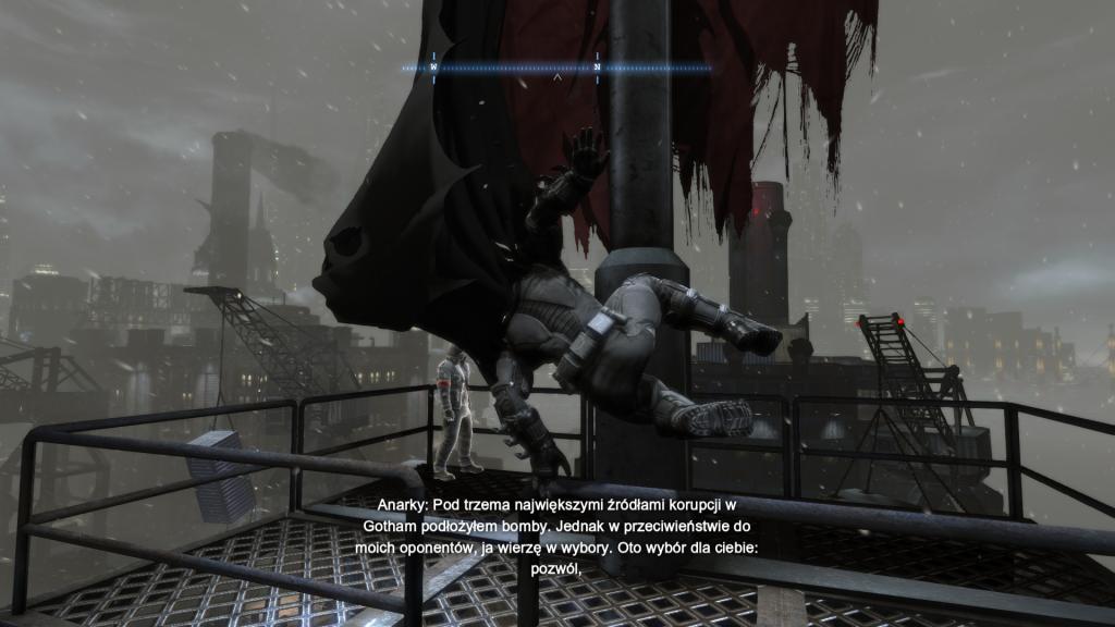 Nietoperz atakuje w Batman Arkahm Origin