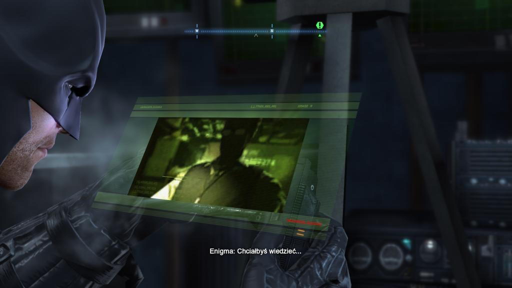Rozmową z Enigmą w Batman Arkham Origin