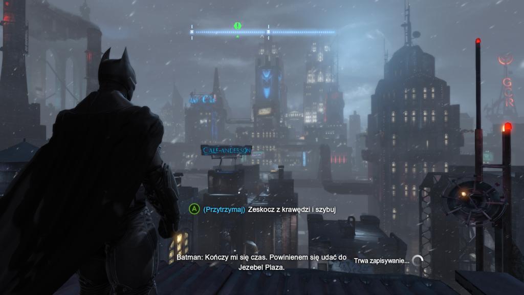 Widok na miasto w Batman Arkham Origin