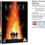 Okładka Space Above and Beyond DVD na Amazon.co.uk