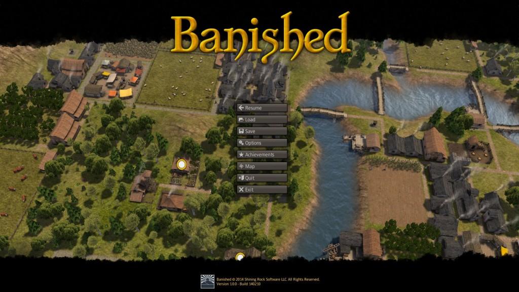 Menu Główne Banished
