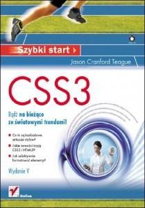 Okładka książki CSS3 Szybki Start Wydanie V - źródło helion.pl