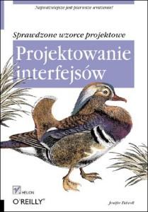 Okładka książki Projektowanie interfejsów - źródło helion.pl