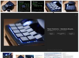 Powiększone zdjęcie w wynikach wyszukiwania Google